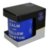 Everton - Club Crest Keep Calm 11oz Mug