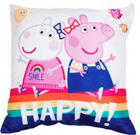 Peppa Pig - Hooray Square Cushion - Cover