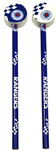 Rangers F.C. - Club Crest Checked Pencil & Topper Set (Pack of 2)