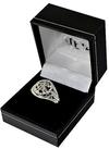 Rangers F.C. - Silver Plated Club Crest Ring (Medium)