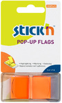 Stick'n - Pop-Up Flags 45x25mm (Neon Orange)
