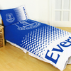 Everton - Club Crest Reversible Fade Duvet Set (Double)