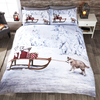 Huskies - Christmas Duvet Set (Single)