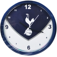 Tottenham Hotspur - Club Crest Swoop Wall Clock - Cover