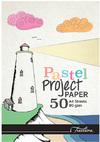 Treeline - A4 Project Pads 80gsm 50 Sheet (Pastel)