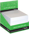 Treeline - 100 x 100mm Cube Refill in perforated box - White (Box of 24)