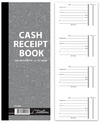 Treeline - Cash Receipt Book 4 to view in Duplicate  - Numbered (Pack of 5)