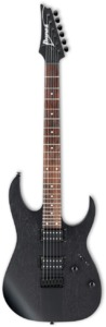 Ibanez RGRT421 Standard Series Electric Guitar (Weathered Black) - Cover