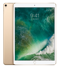 Apple iPad Pro - 10.5 inch - 512GB - WiFi (Gold) (UK) Tablet - Cover