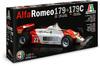 Italeri - 1/12 - AlfaRomeo 179-173C (Plastic Model Kit)