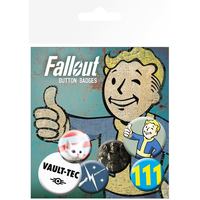 Fallout - Assorted Button Badges - Cover