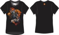 Call of Duty - Black Ops 4 Battery Women's Black T-Shirt (Medium) - Cover