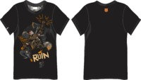 Call of Duty - Black Ops 4 Ruin Men's Black T-Shirt (Small) - Cover