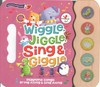 Wiggle, Jiggle, Sing & Giggle 5 Button Song Book - Hannah Wood (Hardcover)
