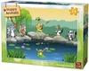 King Puzzle - Happy Animals - Singing Animals Puzzle (24 Pieces)