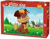 King Puzzle - Little Kittens & Dogs - Dog in the Garden Puzzle (24 Pieces)