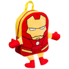 Iron Man - Embroiderd Plush Front Backpack