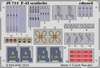 Eduard - Photoetch 1/48 - F-4j - Phantom II Seatbelts (Academy) (Plastic Model Kit Add-On)
