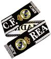 Real Madrid - Crest Scarf - Black