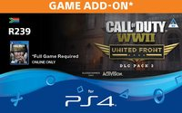 Call Of Duty WWII: United Front - Expansion DLC Pack 3 (PS4) - Cover
