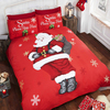 Santa Stop Here Christmas Duvet Set (Single)