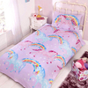 Unicorns Rainbow Duvet Set (Single)