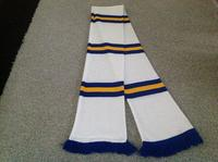 Leeds United - Bar Scarf - Cover