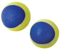KONG - AIRDOG Yellow SQUEAKAIR Ultra Tennis Ball Pack of 2 (Large) - Cover