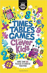 Times Tables Games For Clever Kids - Gareth Moore (Paperback) - Cover