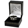 Newcastle United - Club Crest Black Inlay Ring (Large)
