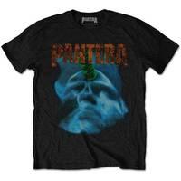 Pantera Far Beyond Driven World Tour Men's Black T-Shirt (Large) - Cover