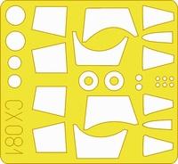 Eduard - Masks: 1/72 - F-104 (Hasegawa) (Plastic Model Kit Add-On) - Cover