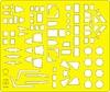 Eduard - Masks: 1/72 - Fw 200C Condor (Revell) (Plastic Model Kit Add-On)