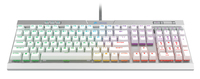 Corsair K70 MK.2 Special Edition Mechanical Gaming Keyboard RGB Backlight Cherry MX Speed - White - Cover