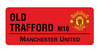Manchester United - Colour Street Sign