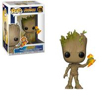 Funko Pop! Marvel - Avengers Infinity War - Groot With Stormbreaker Vinyl Figure - Cover