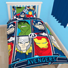 Marvel Avengers - Tech Reversible Duvet (Single) Cover