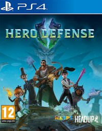 Hero Defense (PS4) - Cover