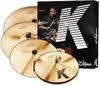 Zildjian KCD900 K Custom Series K Custom Dark Cymbal Set (14 16 18 and 20 Inch)