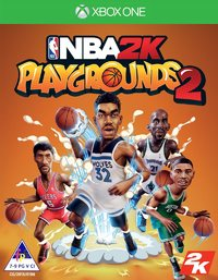 NBA 2K Playgrounds 2 (Xbox One) - Cover