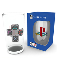 Playstation - Logo Large Glass (500ml) - Cover