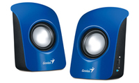 Genius Stereo USB Powered Speakers SP-U115 - Blue - Cover