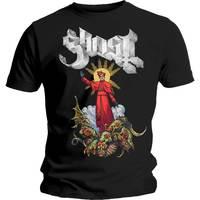 Ghost Plaguebringer Men's Black T-Shirt (Small) - Cover