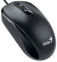 Genius DX-110 USB Optical 1000DPI Ambidextrous Mouse - Black - Cover