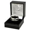 Tottenham Hotspur - Club Crest Black Inlay Ring (Small)