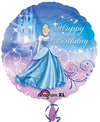 Anagram - 18 inch Circle Foil Balloon - Cinderella Happy Birthday