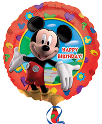 Anagram - 18 inch Circle Foil Balloon - Mickey's Clubhouse Birthday - Cover