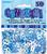Unique Party - Blue Confetti - 50th Birthday Cover