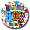 Simon Elvin - Giant Badge - Birthday Boy
