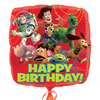 Anagram - 18 inch Square Foil Balloon - Toy Story Gang Happy Birthday